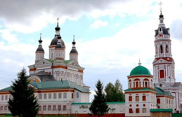 Монастырь в Торбеево. Атяшево.